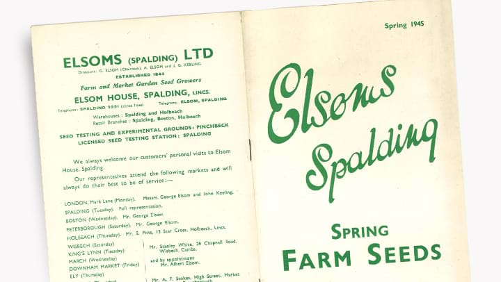 Elsoms Catalogue 1945
